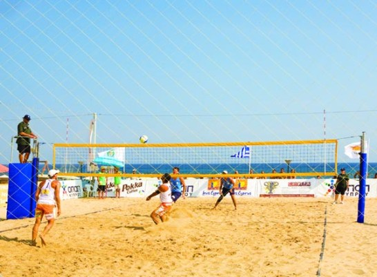 Beach volleyball LImassol