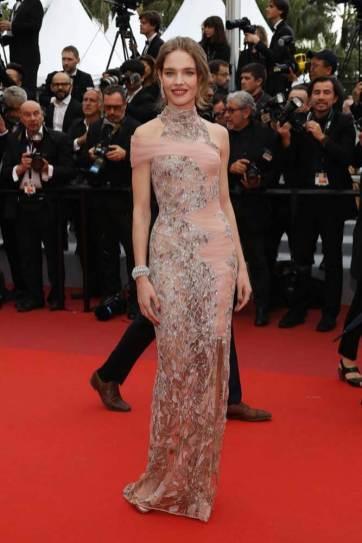 Natalia Vodianova in Atelier Versace