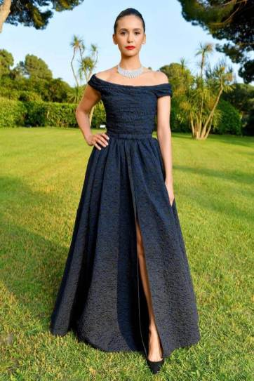 Nina Dobrev in Christian Dior