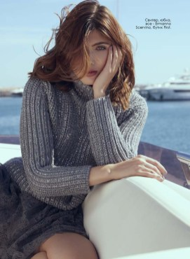 Sweater, skirt, all - Ermanno Scervino, First boutique
