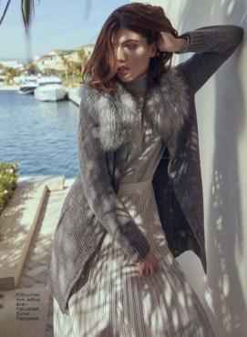 Cardigan, top, skirt, all - Falconieri, Falconieri boutique