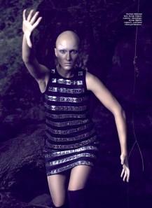 Dress, Michaеl Kors, Timinis boutique; boots, Moschino, Timinis boutique; earrings, Classy&Fabulous boutique