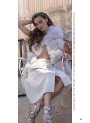 Fur vest, Vito Ponti; skirt, Ultra Chic, Wanted boutique; shoes, Giuezeppe Zanotti Design, Fior Shoes boutique