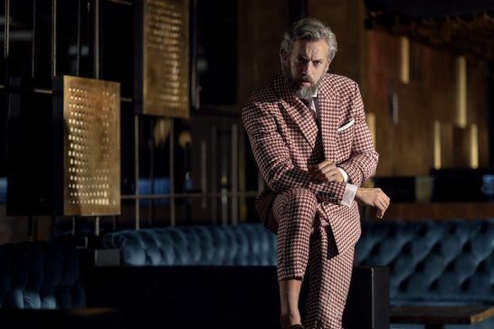 Suit: Asos Shirt: Emanuel Berg Tie: Reiss Pocket Square: Anton Meyer