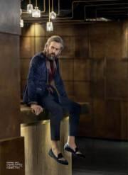 Velvet Blazer : Asos Turtleneck Sweater: Massimo Dutti Trousers: COS Loafers: H&M