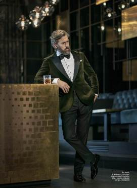 Tuxedo Suit, Dress Shirt ,Tie & Pocket Square : Anton Meyer Shoes: Moreschi