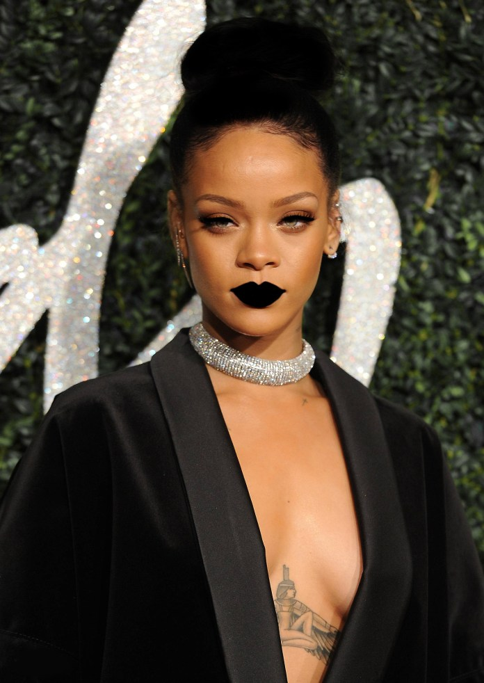 Image result for black people with black lipstick