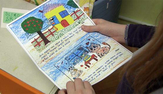 Djeca iz vrtića Pčelice izradila vlastitu slikovnicu