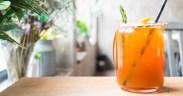 Osviežujúce nápoje na leto - ľadový čaj.