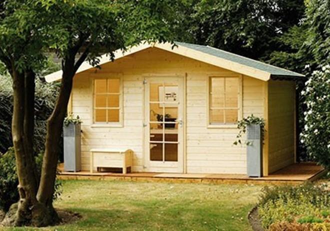 Záhradný domček nemusí byť solitér