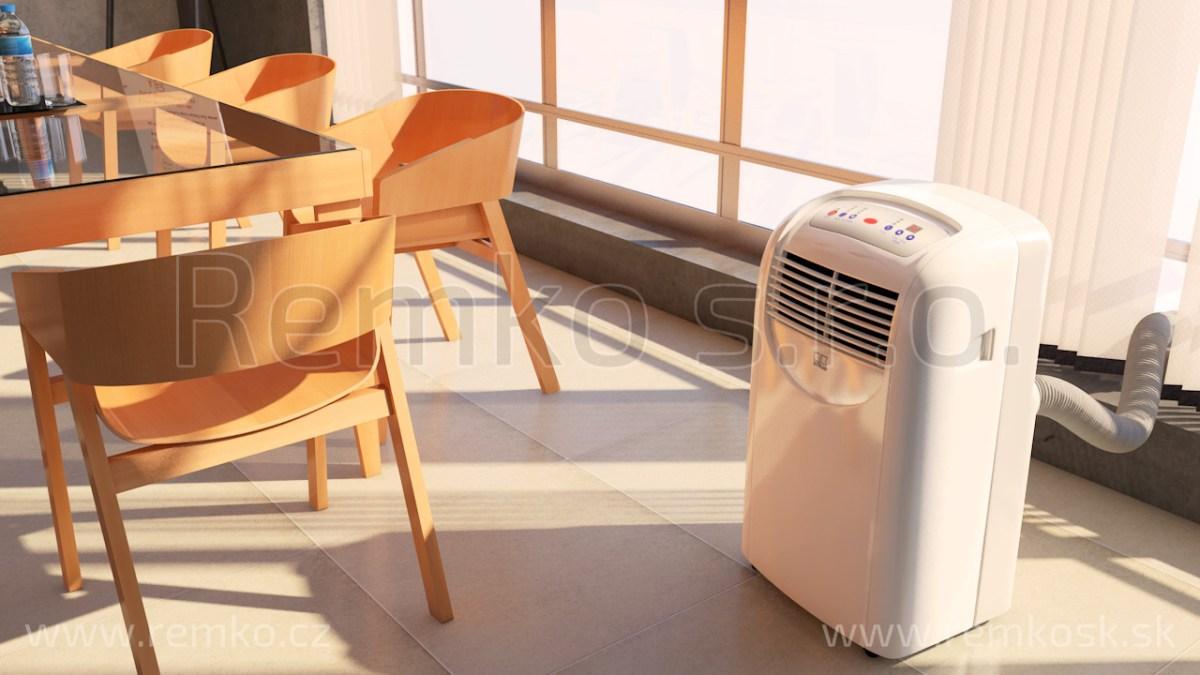 Efektné a mobilné chladenie pre interiér vašej domácnosti