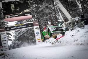 ŠKODA świętuje podwójny finisz na podium Rajdu Szwecji