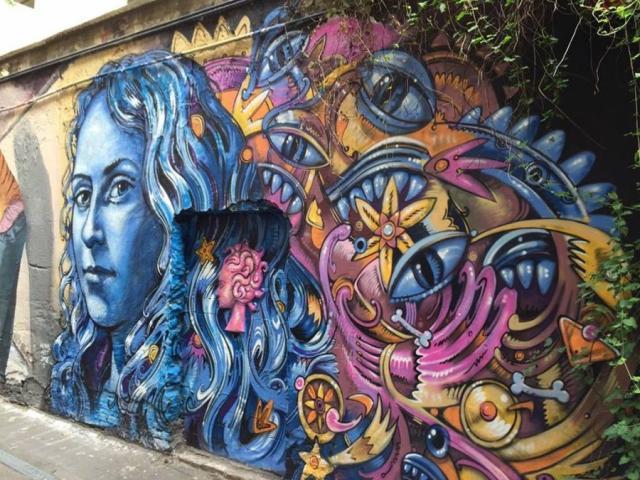Grafiti u Berlinu. Foto: Ivana Kovačević