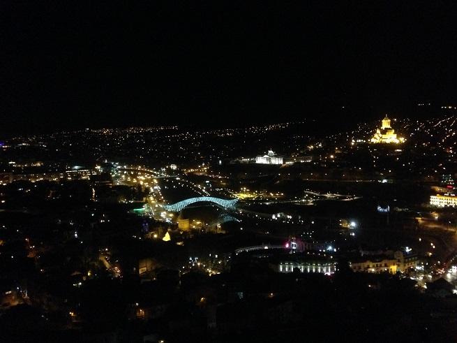 Tibilisi noću Foto: Ivana Kovačević