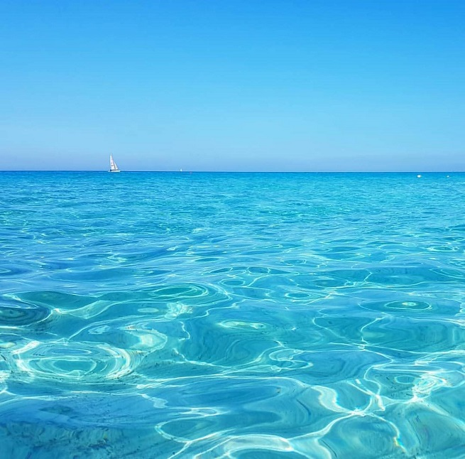Poetto plaža, Cagliari