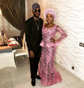 #BAAD2017 : First Photos From Banky W And Adesua Etomi's Traditional Wedding