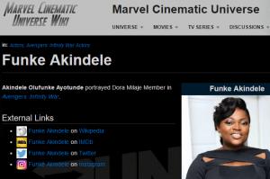 Funke Akindele In Avengers; The Real Story