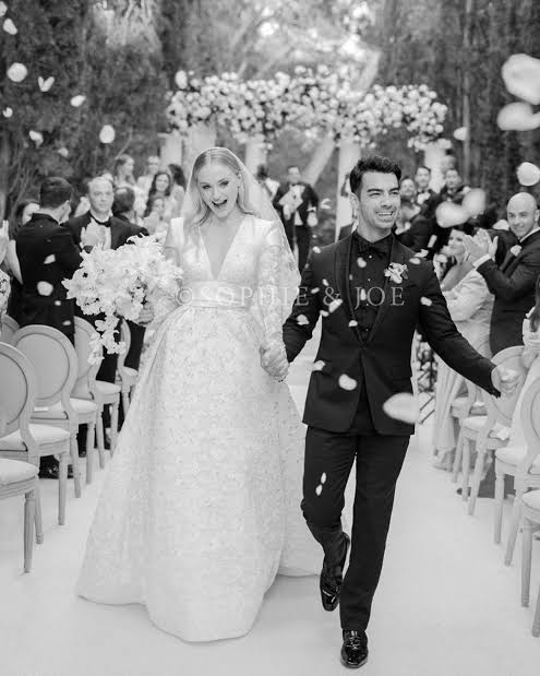 American singer Joe Jonas and his actor wife, Sophia Turner