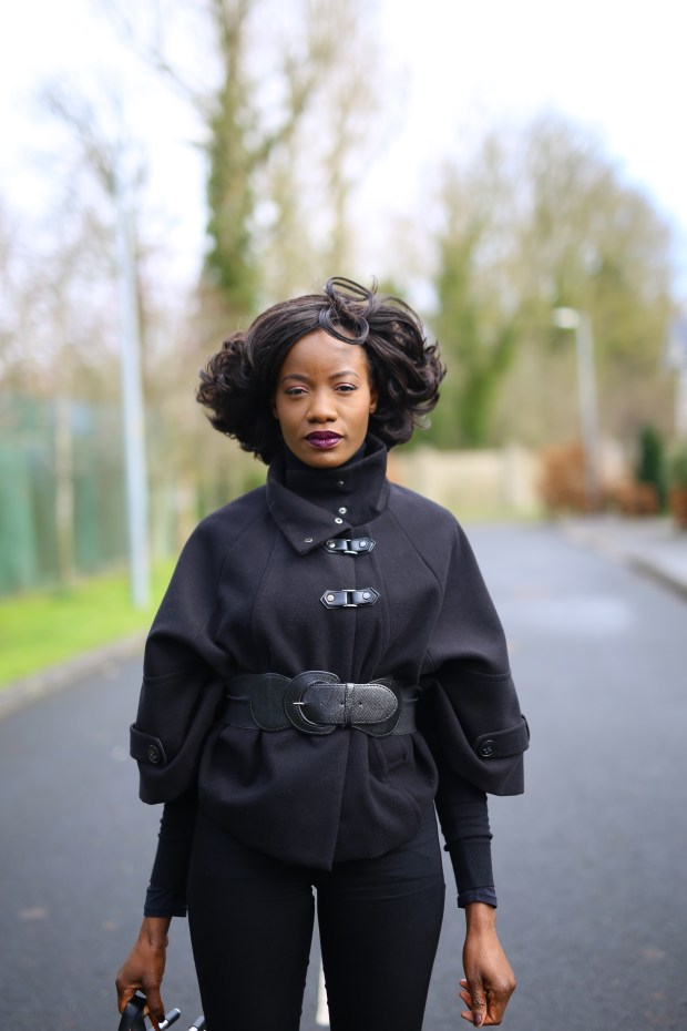 Belted Cape Coat