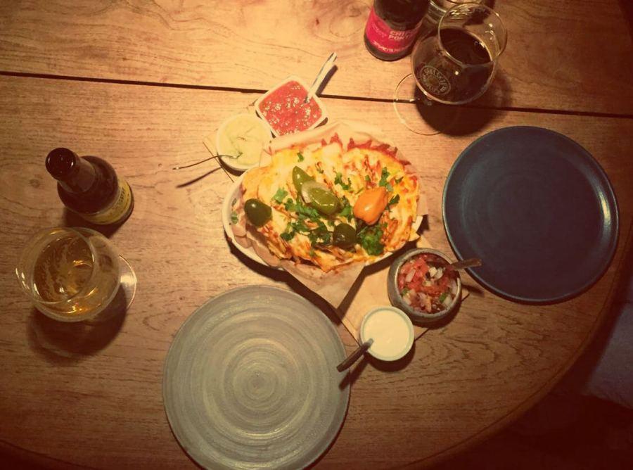 Food Beer Pairing im mexikanischen Sofa de Pancho-Restaurant in Vilnius
