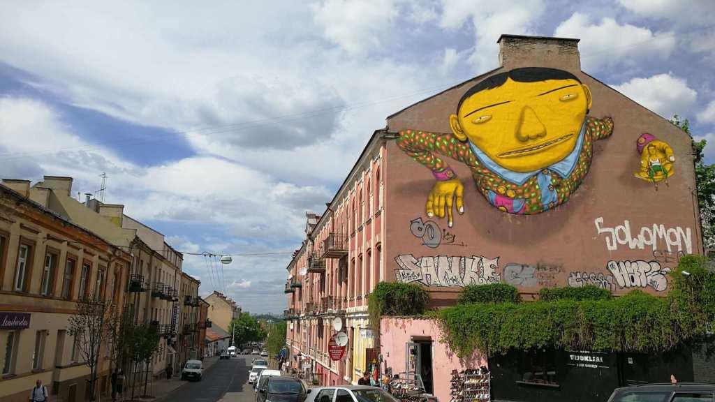 Vilnius Litauen Street Art