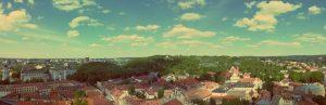 Outdoor-Aktivitäten in Vinius. Sommer in Vilnius