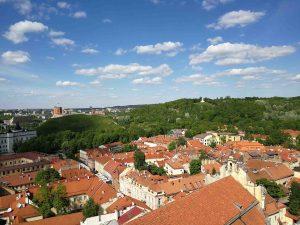 Vilnius Litauen im Sommer
