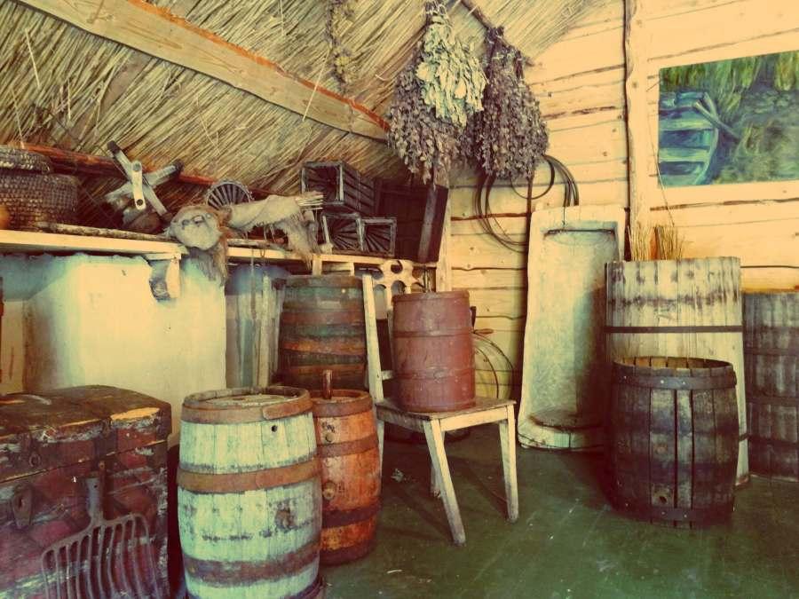 Cizas besitzt eine funktionierende 100jährige hölzerne Brauanlage