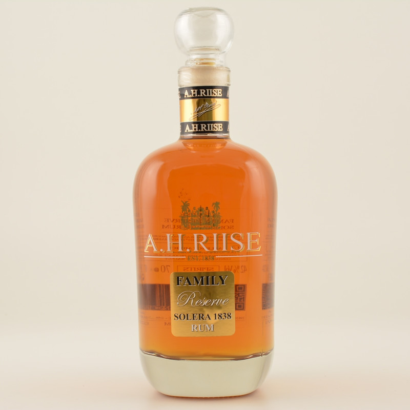 A.H.Riise Family Reserve Especial Solera 25 Jahre Rum