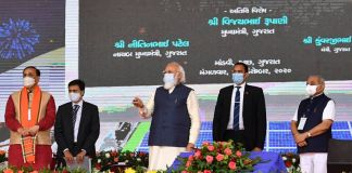 PM Unveils Key Projects In Gujarat