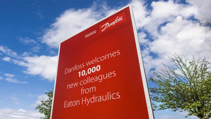 danfoss acquires eaton's hydraulics business