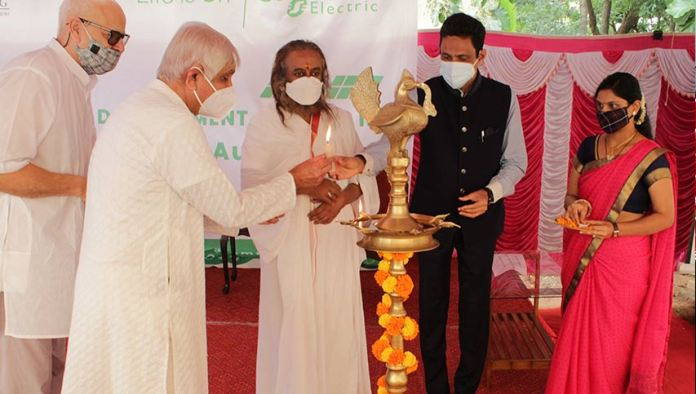 schneider electric india foundation partners with sri sri rural development programme trust to set up training centre at bangalore