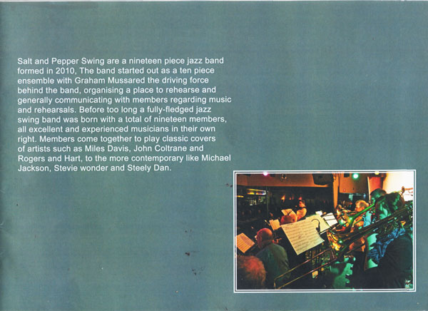 page one Jazz brochure