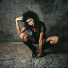 mojokiss photo of studio model
