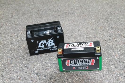 Aliant Lifepo vor Bleibatterie