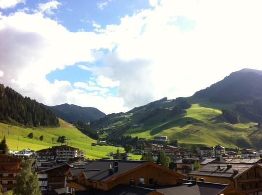 So gaben sich die Alpen bei meinem Besuch letzte Woche. Ich rechne mit Schnee. Freu mich aber trotzdem.