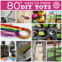 Diy 80 Easy To Make Toys