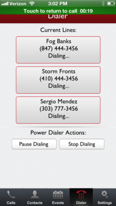 Mojo Dialer for iPhone