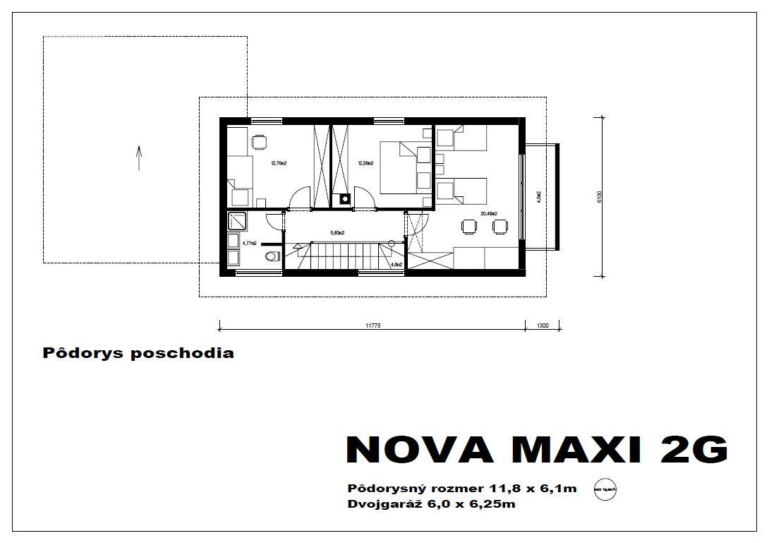 Projekt Rodinneho Domu Nova Maxi 2g