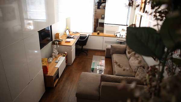 Transformacija malog stana na Manhattanu