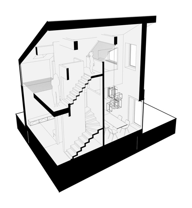 Kuća sa mrežama / Ruetemple