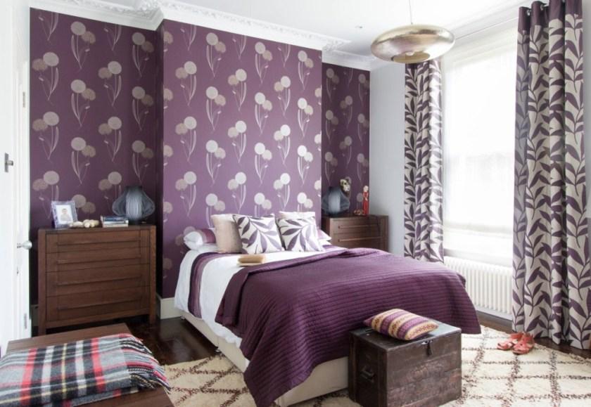 20 spavaćih soba ljubičaste boje