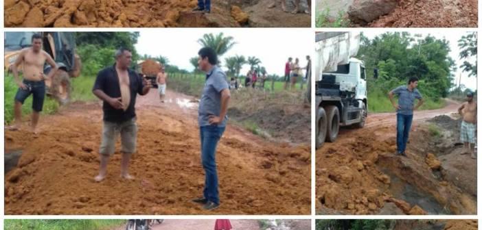 Ação emergencial recupera Ramal Bom Futuro no Ateuazinho e garante trafegabilidade à moradores e veículos