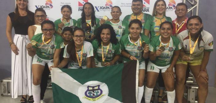 Futsal Feminino de Moju é Campeão dos Jogos Abertos Paraense 2018