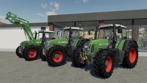 Fendt Favorit 700/800 Vario Pack V4