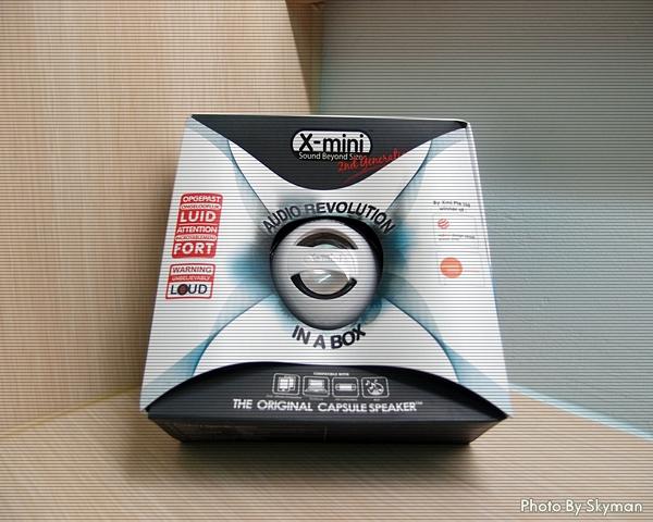 [開箱] X-mini iPod專用喇叭 | MokaFun