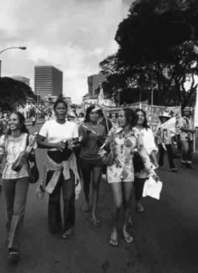 MFA protestors
