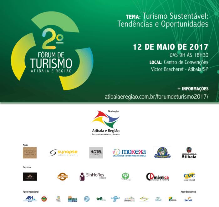 Convite do Fórum de Turismo Atibaia e Região