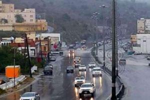الانذار المبكر: هطول أمطار على 8 مناطق من اليوم وحتى الاثنين