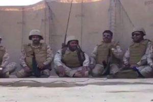 مشهد مؤثر.. جنود الحد الجنوبي يرددون أهازيج حماسية (فيديو)